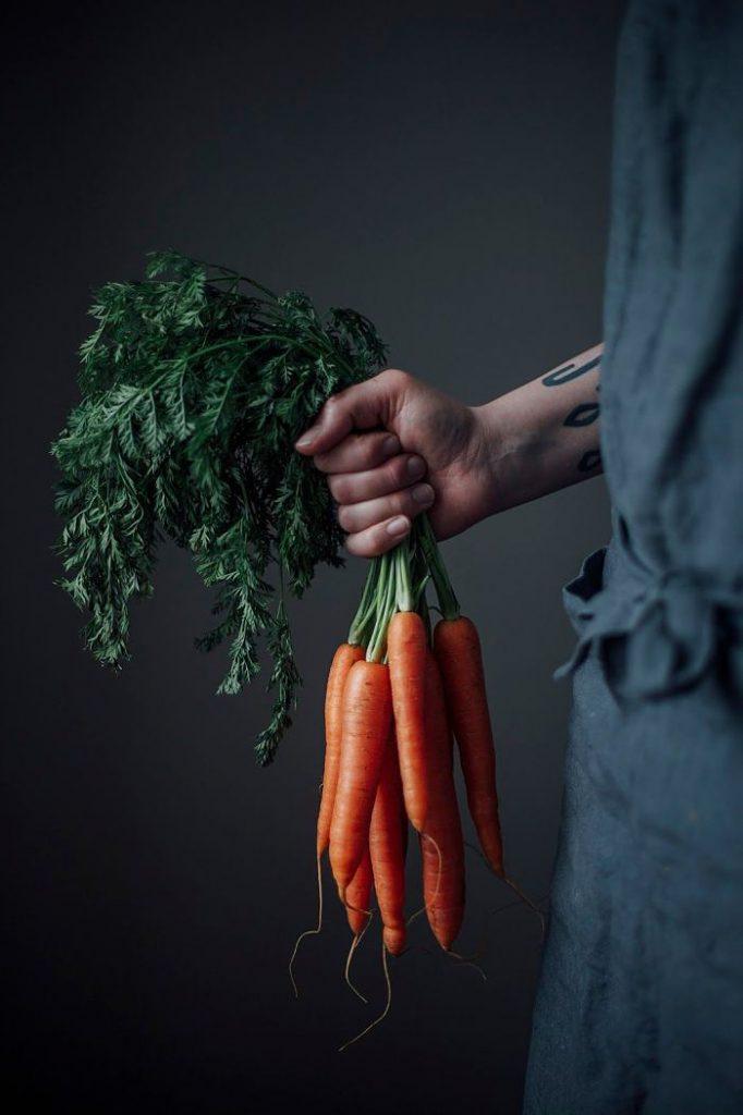 Cà rốt giàu khoáng chất và vitamin