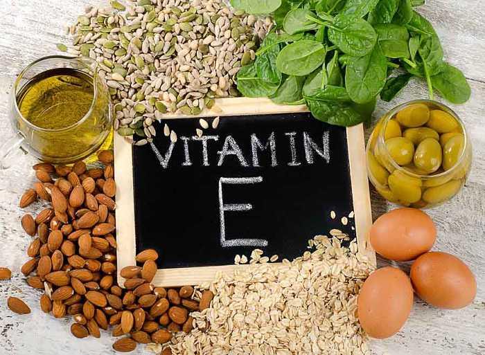 Bổ sung Vitamin E từ các loại hạt