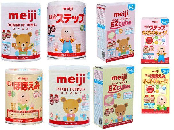 Meiji – thương hiệu Nhật