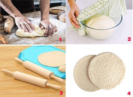 Cách làm đế bánh pizza