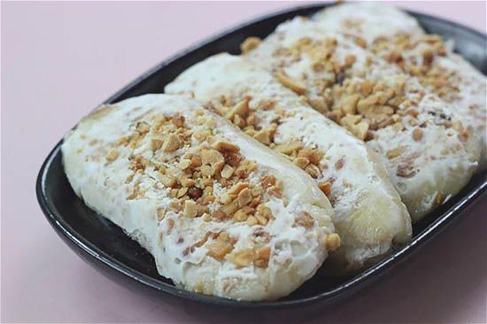 cách làm kem chuối