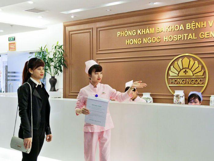 Đăng ký khám chữa bệnh tại Bệnh viện Hồng Ngọc