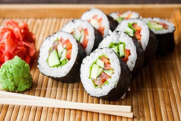 Sushi - ẩm thực đậm vị Nhật Bản