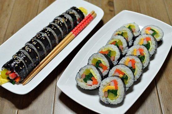 thành phẩm sushi