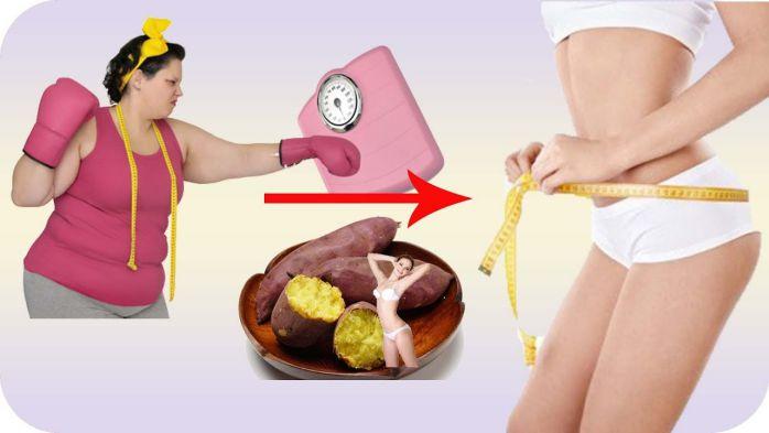 thời điểm ăn khoai lang giảm cân