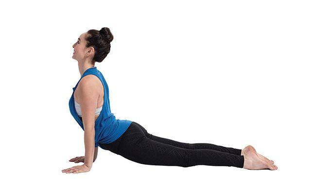 Tư thế yoga rắn hổ mang - Bhujangasana