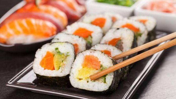 cách làm sushi