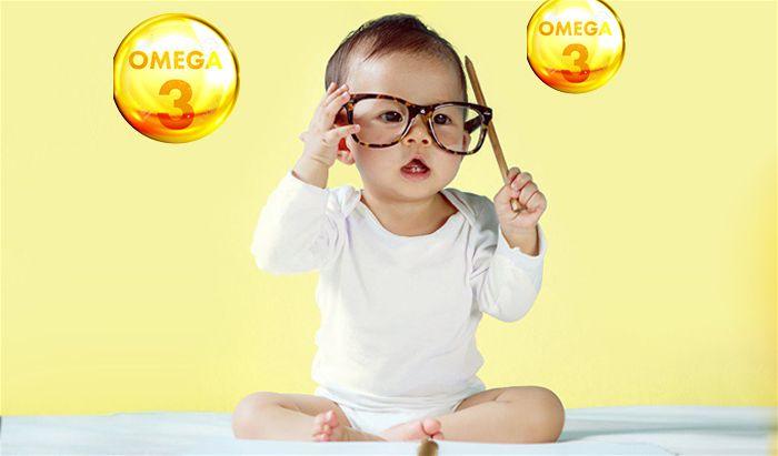 DHA phát triển trí tuệ và thị lực