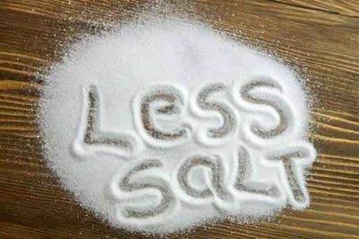 Liều lượng sử dụng muối hợp lý trong chế độ ăn