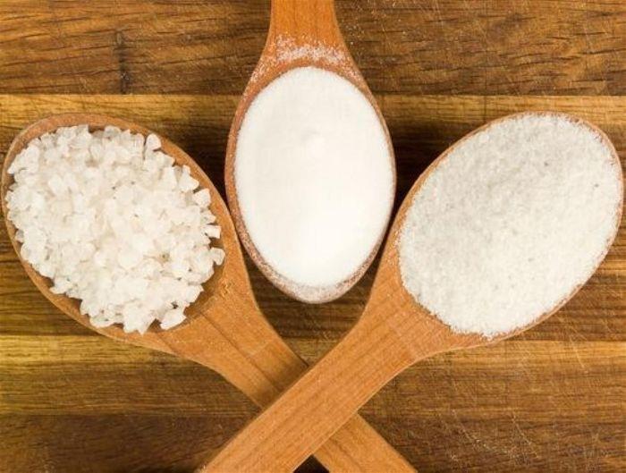 Các loại muối thường được sử dụng