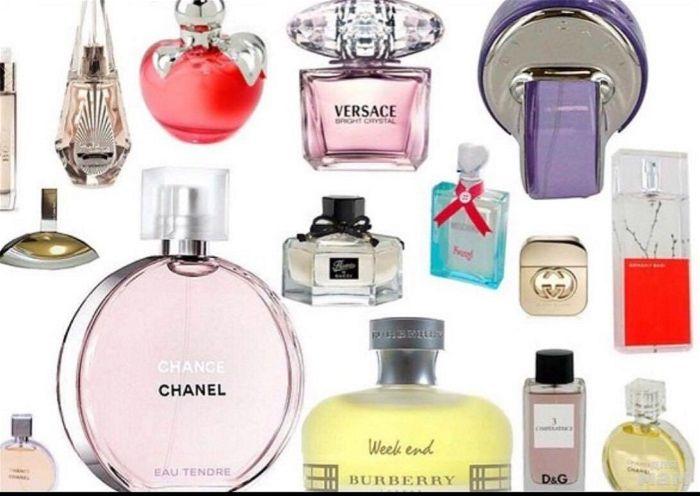 Các loại nước hoa dành cho nữ