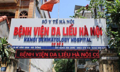 Bệnh viện da liễu Hà Nội điều trị gì?