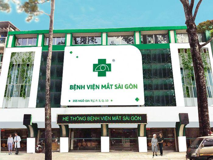 Giới thiệu bệnh viện mắt Sài Gòn