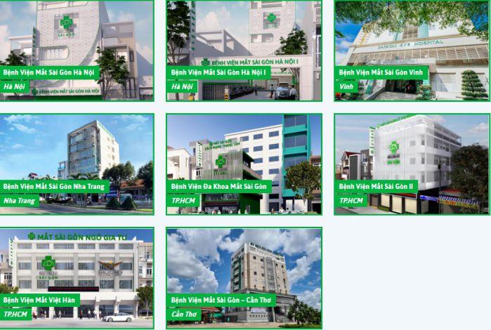 Hệ thống bệnh viện mắt Sài Gòn