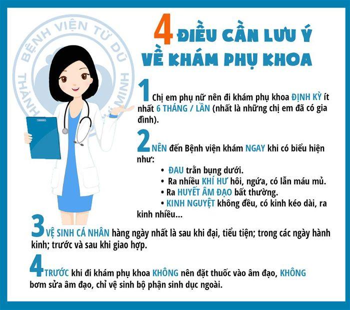 Quy trình khám thai, khám phụ khoa