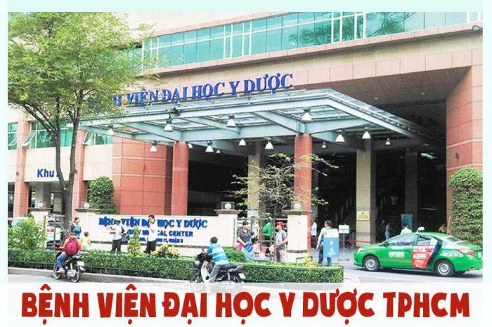 trụ sở chính của bệnh viện đại học y dược tp.hcm