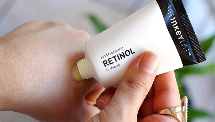 Retinol sẽ gây ra những phản ứng phụ nào?
